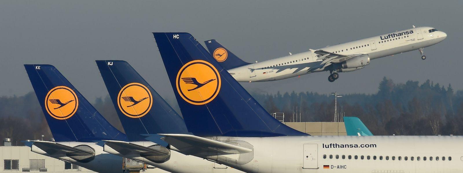 De nombreux avions de la compagnie Lufthansa seront cloués au sol ces jeudi et vendredi