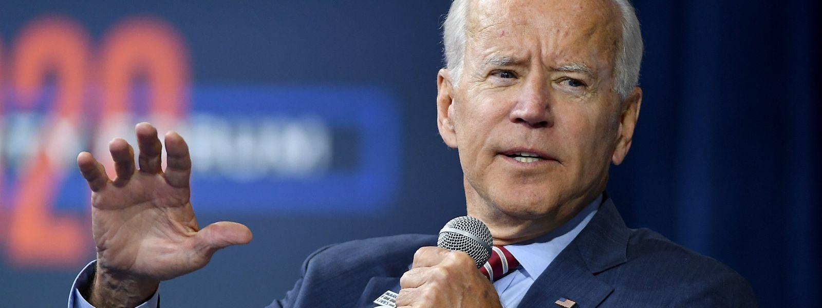 Biden wehrte sich am Mittwoch vehement gegen die Machenschaften des US-Präsidenten.