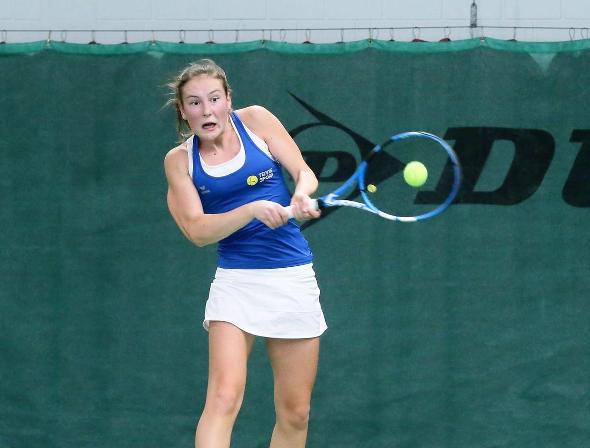 Liz Baddé und Tennis Spora hatten keine Mühe im Finale gegen Junglinster.