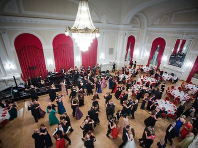 The 'Wiener Ball' took place at the Cercle Cité in Luxembourg city on March 18, 2017.