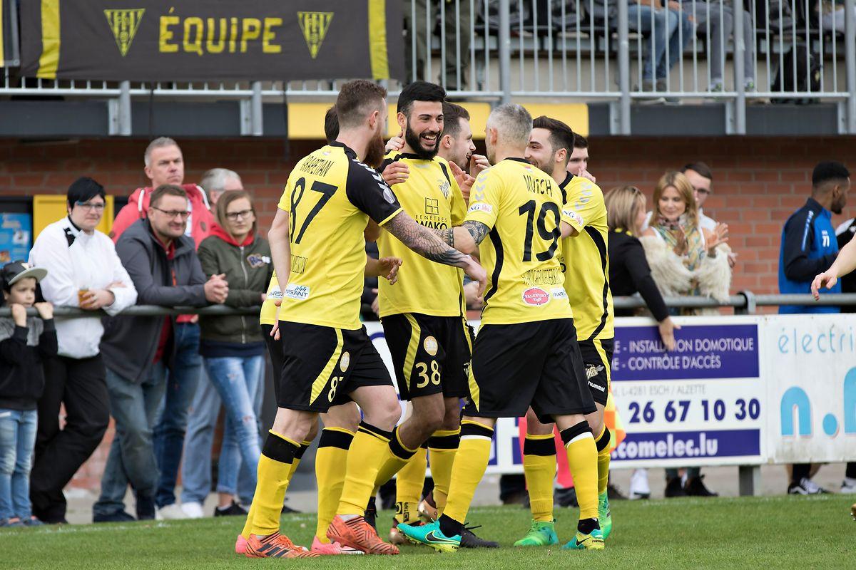 Niederkorns Fußballer wollen gegen Rodange wieder jubeln.