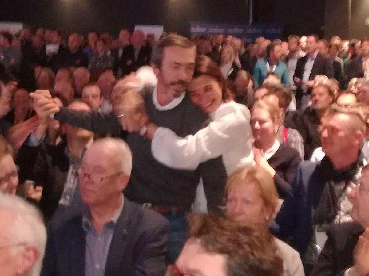 Illario Mosconi und seine Frau Simonetta bei der Bekanntgabe seines Sternen-Gewinns.