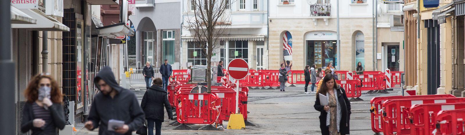 In Düdelinegn sind zwei Geschäfte und drei Restaurants betroffen.