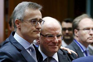 O ministro da Justiça, Félix Braz, confortou o seu homólogo belga, Koen Geens, durante a reunião de minsitros