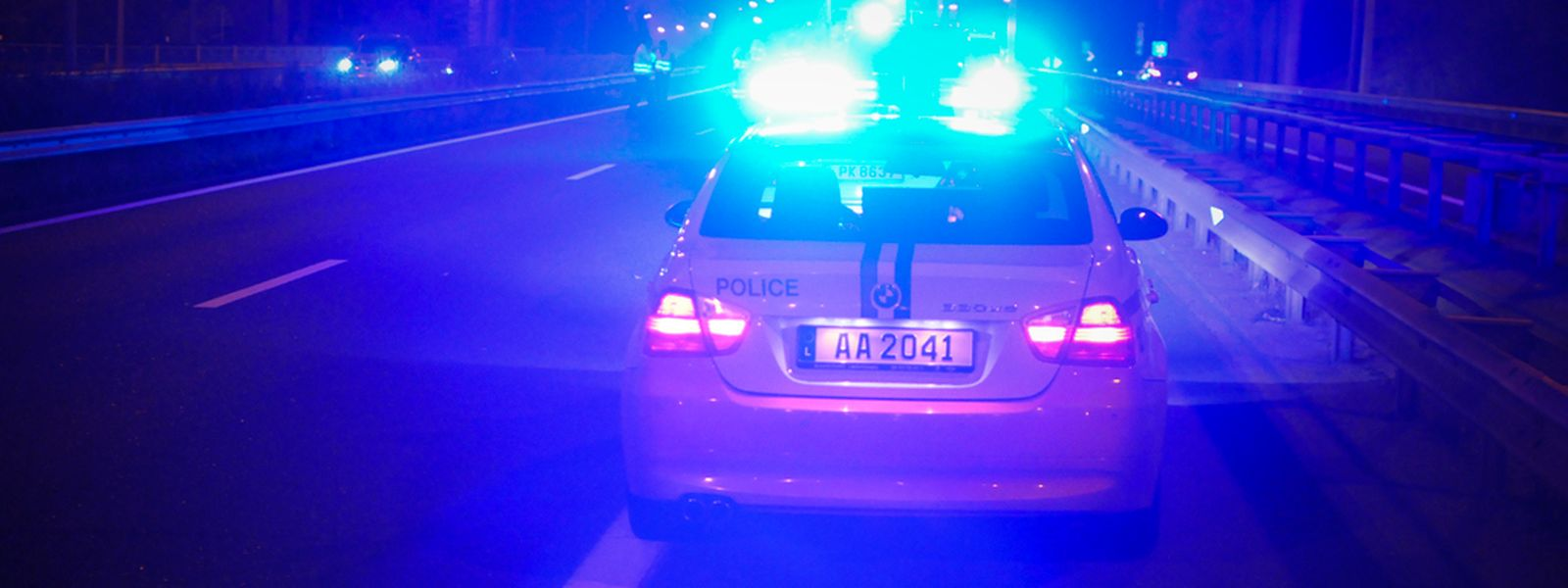 Die Polizei hatte in der Nacht wieder alle Hände voll zu tun.