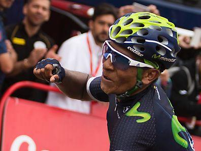 Nairo Quintana durfte jubeln.