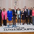 PK Resultate Koalition DP-CSV Stadt Luxemburg - Photo : Pierre Matgé