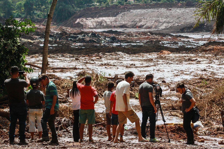 In Brasilien werden Hunderte Tote befürchtet.