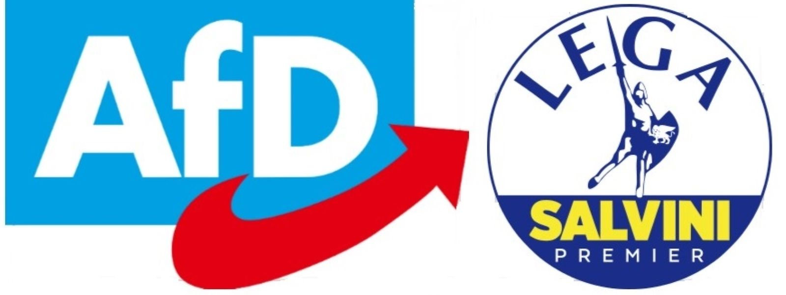 Die deutsche AfD und italienische Lega Nord wollen bald gemeinsame Sache machen.