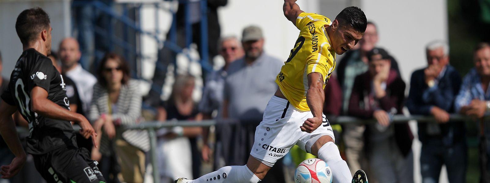Daniel da Mota (r.) und F91 sicherten sich den ersten Titel der Saison.