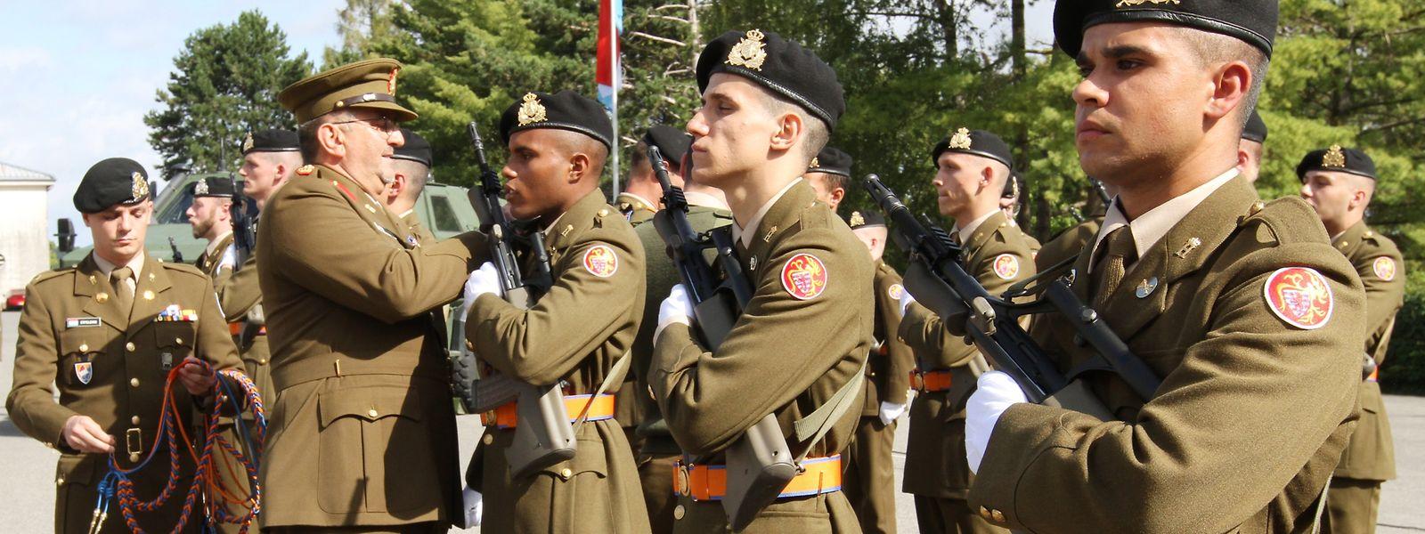 Die Armee braucht jedes Jahr rund 350 freiwillige Soldaten, doch die Rekrutierung bereitet seit Jahren Probleme.