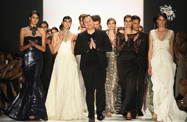 """Shoping-Quenn""-Liebling Guido Maria Kretschmer bedankt sich bei den Zuschauern nach seiner Show."