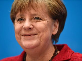 German Chancellor and head of the Christian Democratic Union (CDU) Angela Merkel