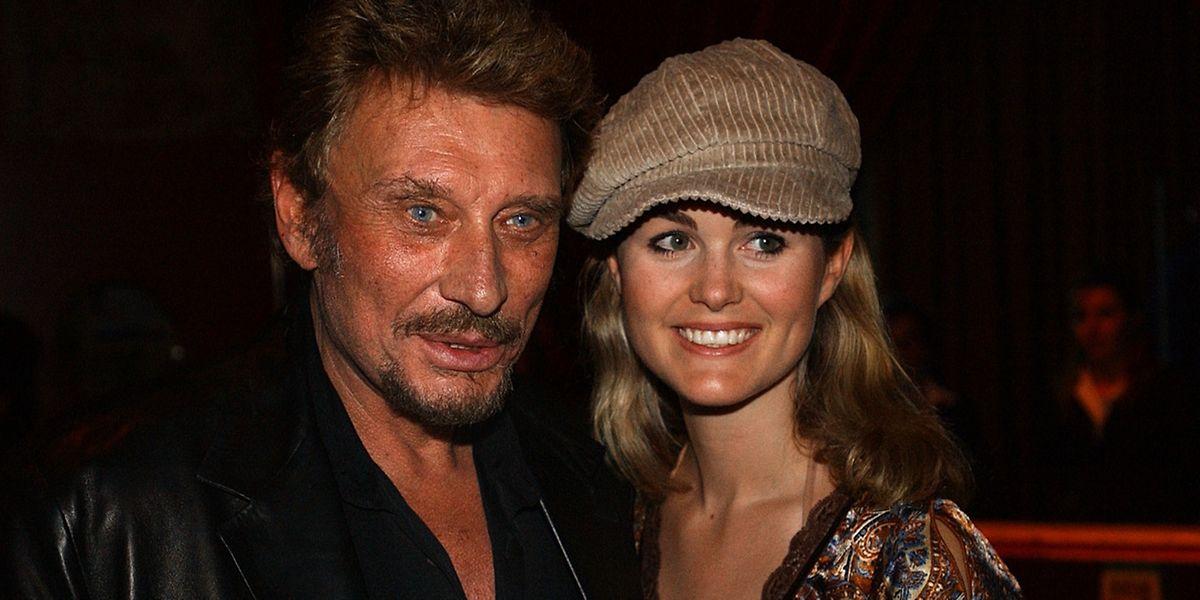 Eine Institution der französischen Popgeschichte: Johnny Hallyday (l.) mit seiner Frau Laetitia.