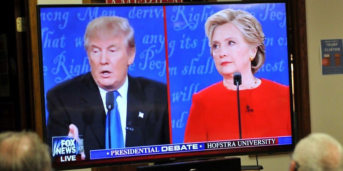 De nombreux Américains étaient rivés devant leurs écrans de télévision pour suivre ce débat très attendu.