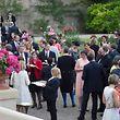 Réception,Garden Party en présence de LLAARR au Chateau Colmar Berg. Foto.Gerry Huberty