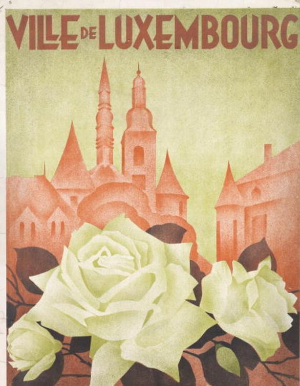 The cover of a Luxembourg Rose catalogue