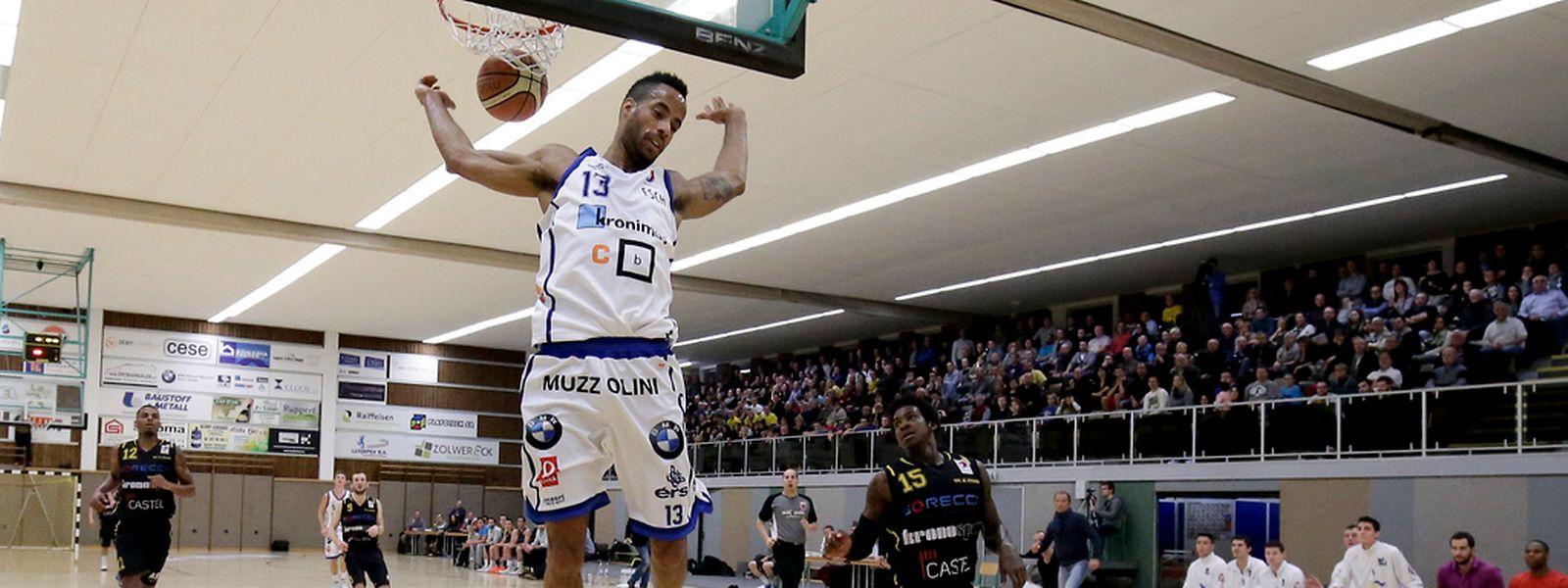 Jerrell Williams war erneut einer der Erfolgsgaranten bei Basket Esch.