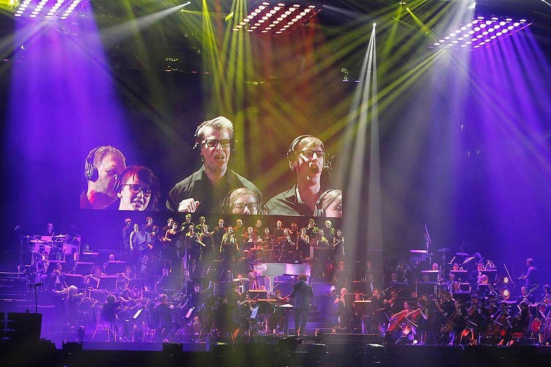 Das Orchester Il Novecento...