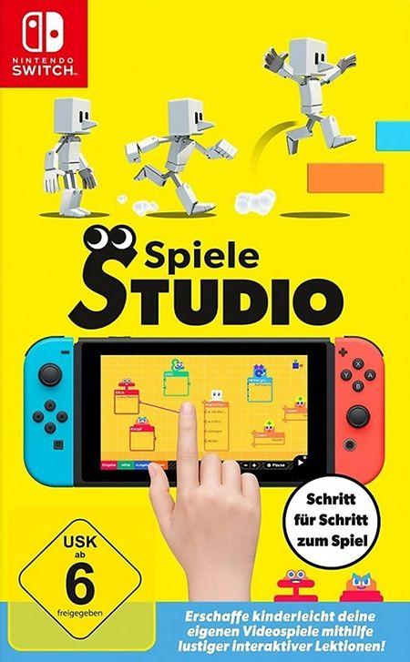 """Das """"Spiele Studio"""" von Nintendo."""
