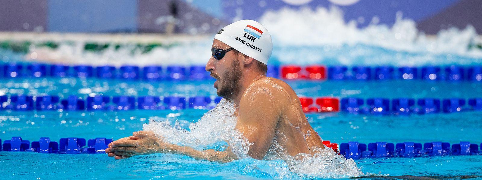 Raphaël Stacchiotti nimmt zum vierten Mal an Olympischen Spielen teil.