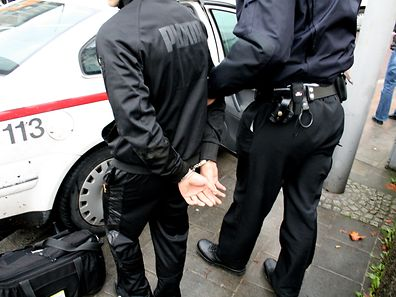 Der Täter konnte in der Rue Milbich festgenommen werden.
