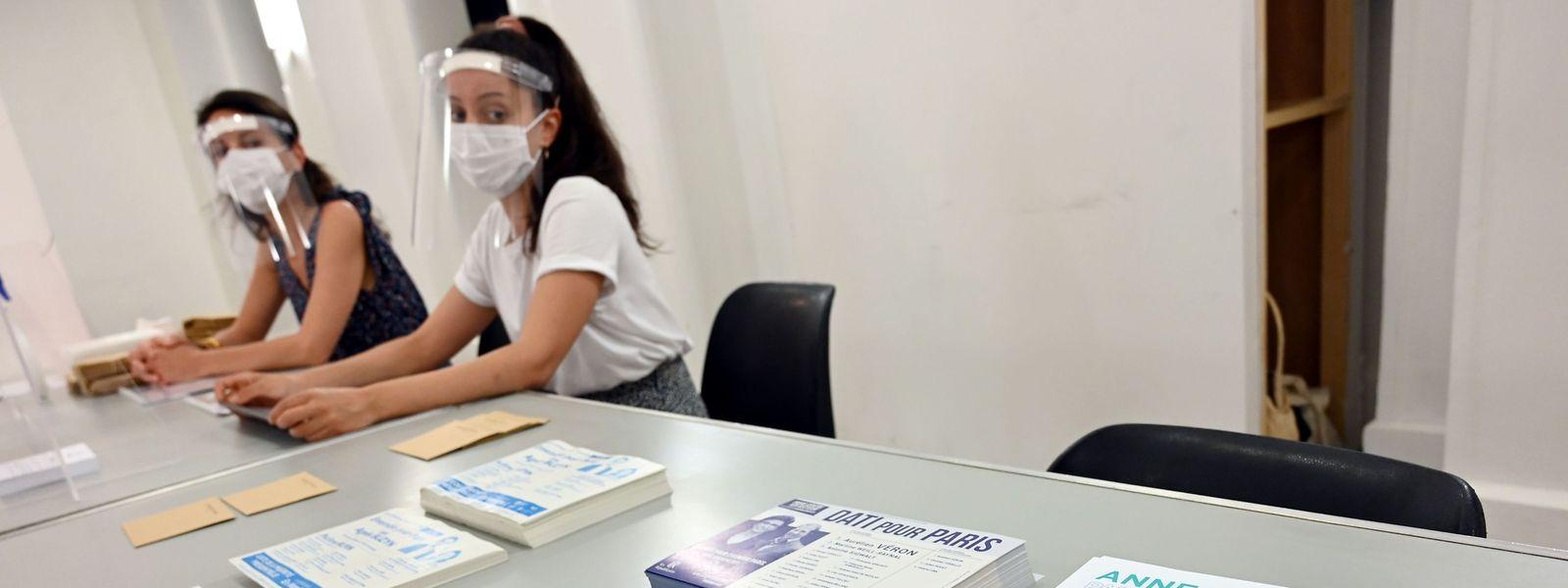 Am Sonntag findet die zweite Runde der Kommunalwahlen in Frankreich statt, die aufgrund der Corona-Pandemie verschoben worden war.