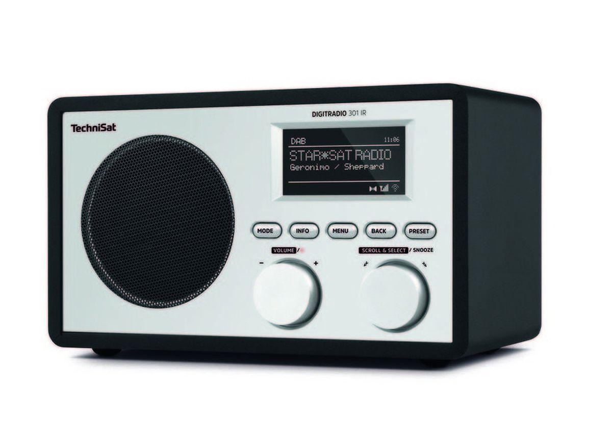 """Das """"Digitradio 301 IR"""" von TechniSat"""