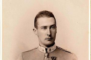 Offizielles Porträt des Herzogs Albrecht