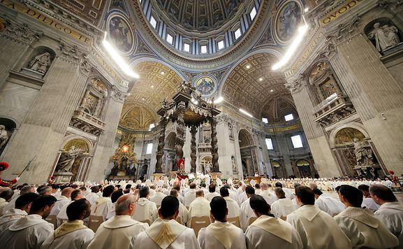 Kreuzweg mit Papst in Rom - Prozessionen in Jerusalem