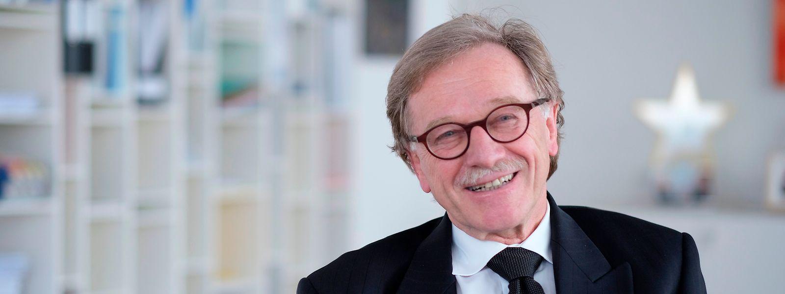 Présent début mars au Luxembourg, Yves Mersch avait plaidé en faveur de l'approfondissement du marché des capitaux.