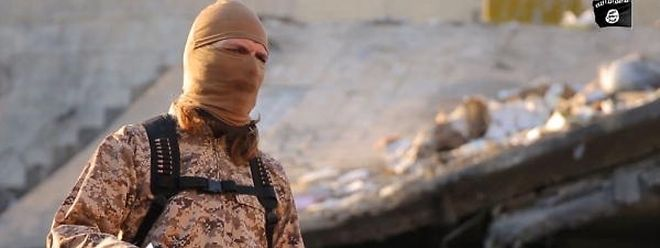 Screenshot aus Daesh-Propaganda-Video.