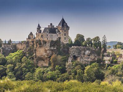 Le château de Montfort, dans le Gers (Dordogne).
