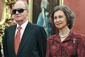 Schwierige Weihnachten: König Juan Carlos und seine Frau Sofia. Foto: Ekaterina Shtukinaria