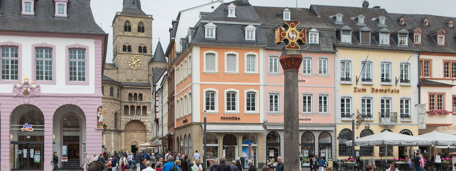 Trotz Einbrüchen in einigen Bereichen schlägt sich der Einzelhandel wie hier in Trier in der Krise wacker.