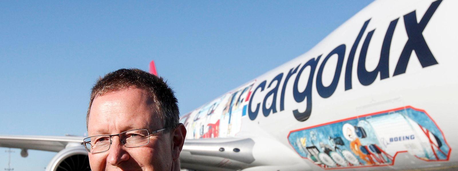 Dirk Reich war bis Ende Juli 2016 CEO der luxemburgischen Frachtfluggesellschaft Cargolux.