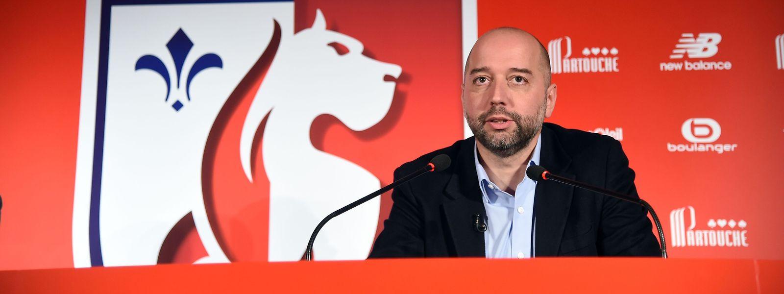 Gerard Lopez hat den Verein vor vier Jahren übernommen.
