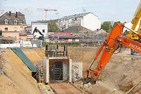 Wort.fr suivi chantier nouvelle N3, bonnevoie, CFL, foto: Chris Karaba/Luxemburger Wort