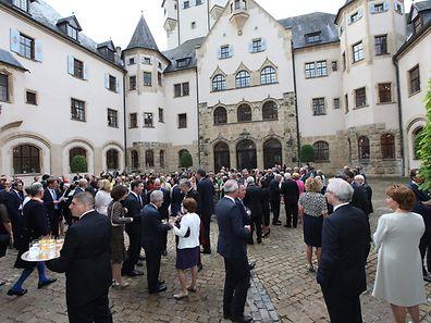 Garden Party - c�teau de Colmar Berg -  30.06.2016 � claude piscitelli