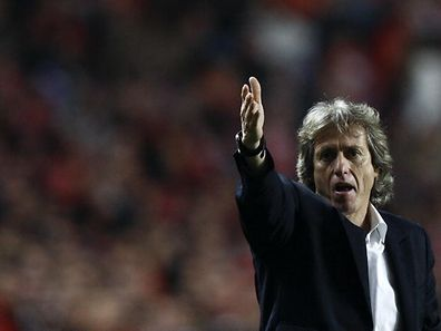 Benfica`s coach Jorge Jesus reacts during their Portuguese First League soccer match against Gil Vicente held at Luz Stadium, Lisbon, Portugal, 22 january 2012. JOSE SENA GOULAO/LUSA