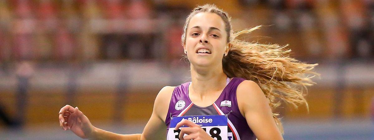 """Patrizia van der Weken a placé le curseur du 100 mètres à 11""""52."""