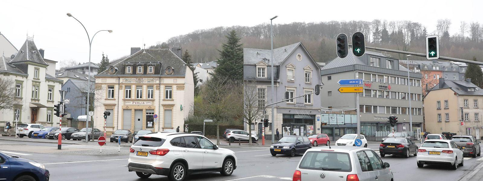 Die Place Dargent ist eine der Hauptachsen, um ins Stadtzentrum oder wieder hinaus zu gelangen.