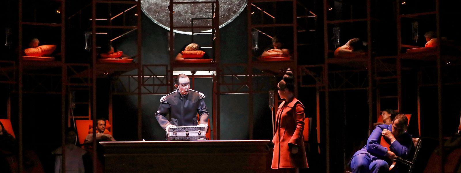 La production internationale «Les Mille endormis» sera jouée au Grand Théâtre de Luxembourg en janvier 2020.