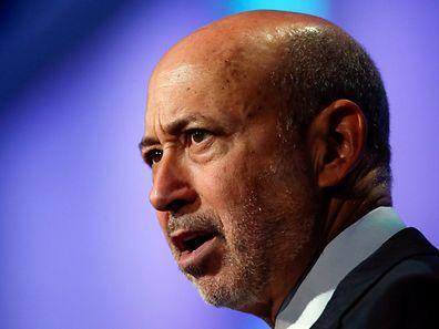 Goldman Sachs Group, Inc. Chairman and Chief Executive Officer Lloyd Blankfein