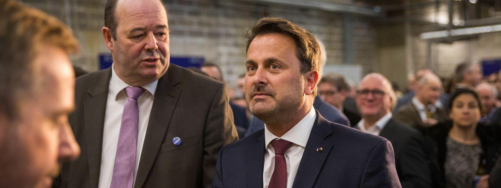 Ce vendredi après-midi, le Premier ministre a participé à l'inauguration de la nouvelle brasserie de Diekirch avant d'envoyer son message aux jeunes mobilisés un peu plus tôt dans les rues de Luxembourg.