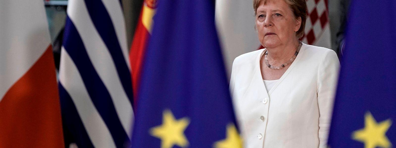 Angela Merkel konnte sich mit ihrem Vorschlag nicht durchsetzen.