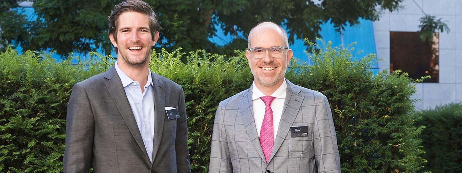 A la tête du réseau: Max Didier, CEO du FBN Luxembourg (à g.) et Jean-Marc Kieffer, président du FBN Luxembourg.