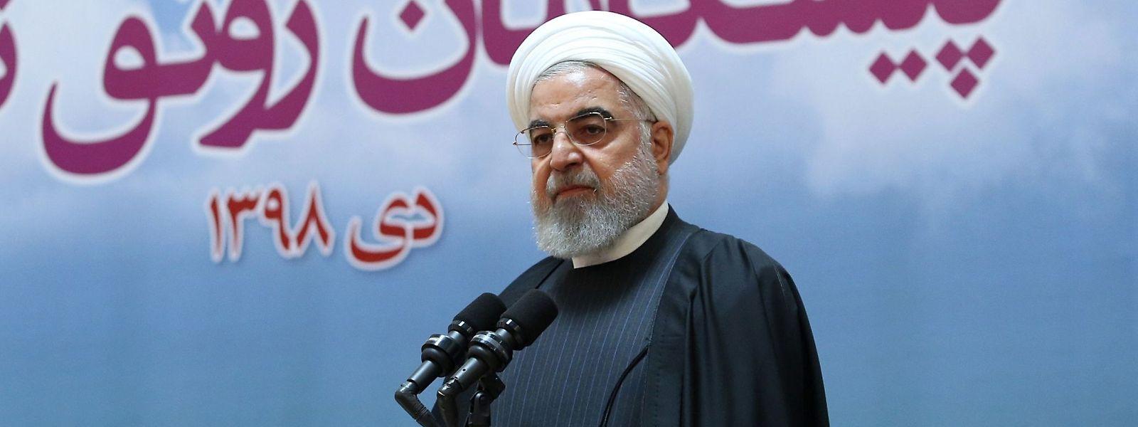 """Hassan Ruhani: """"Wir müssen dafür sorgen, dass so eine Tragödie in unserem Land nie wieder passiert."""""""