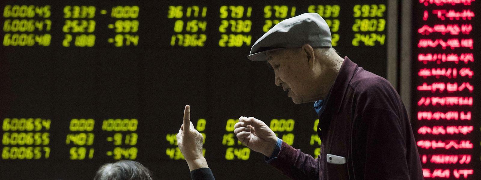 Die Aktieneuphorie der Chinesen hat ganz bestimmt zur Börsenblase beigetragen.