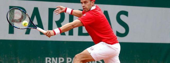 Gilles Muller n'a jamais pu franchir le cap du deuxième tour à Roland Garros